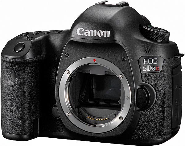 Canon EOS 5DS R, frontale