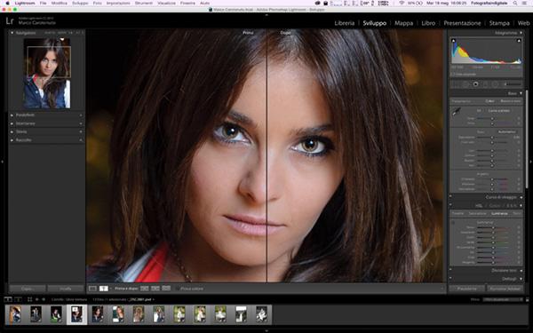 Come migliorare gli occhi di un ritratto, tecnica fotografica