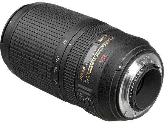 Nikkor AF-P 70-300 f/4.5-5.6 VR